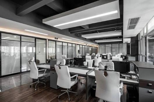 深圳龙华创意办公室设计装修