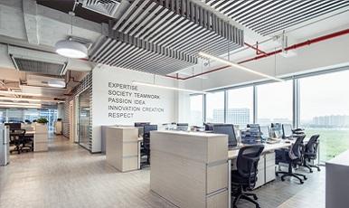 服装公司办公室空间