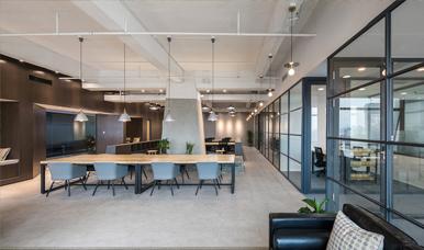 深圳办公室装修案例-共享办公室
