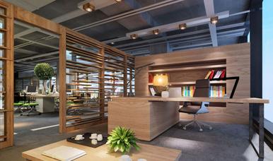 福田办公室装修案例