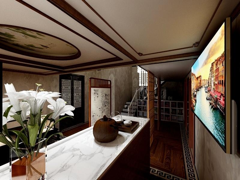 中式风格美容机构装修