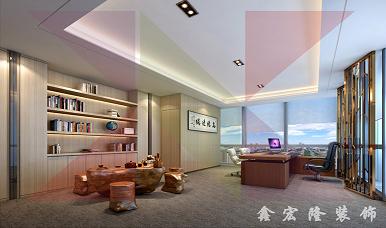 惠州办公室装修_恒昌惠城案例