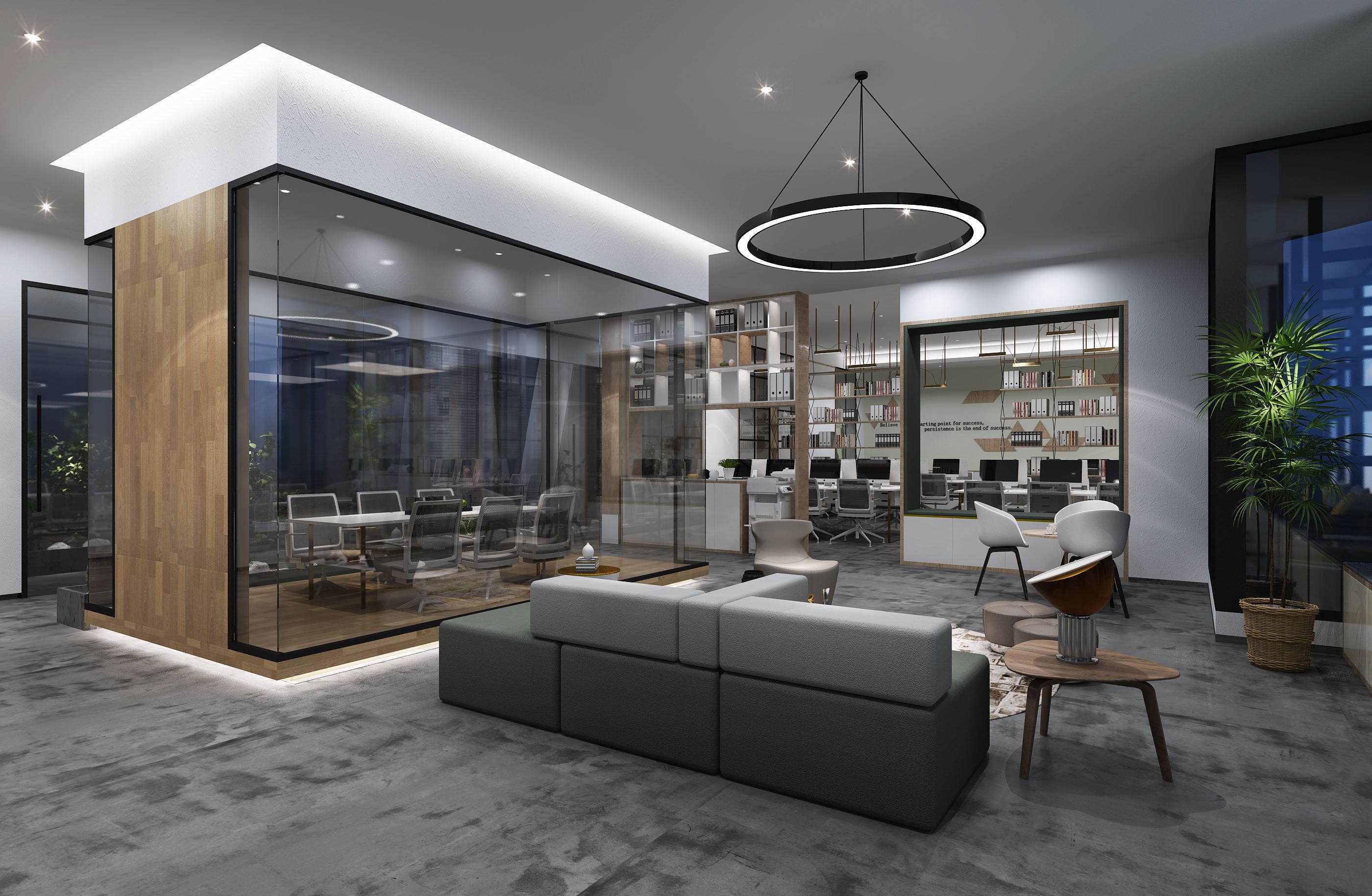 科技公司办公室-如何装饰更有格调?