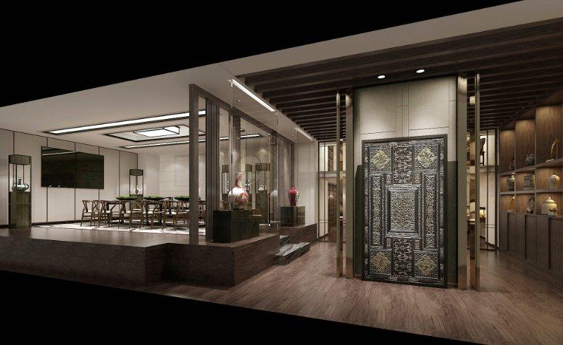 如何让餐厅装修背景墙美观大气-成都餐厅装修设计
